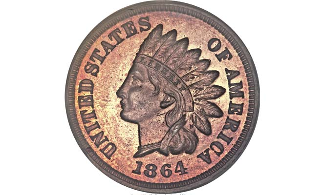 1864 Indian Head Cent - Most Valuable Indian Head Penny