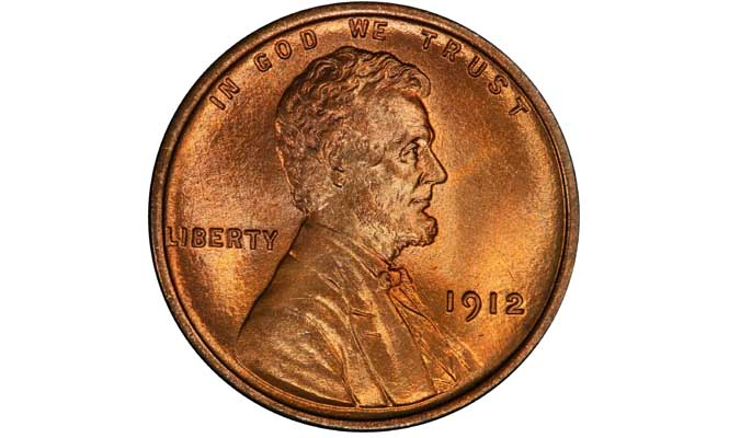 1912 Lincoln Wheat Penny