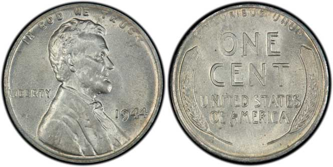 1944 Lincoln Wheat Penny MS64