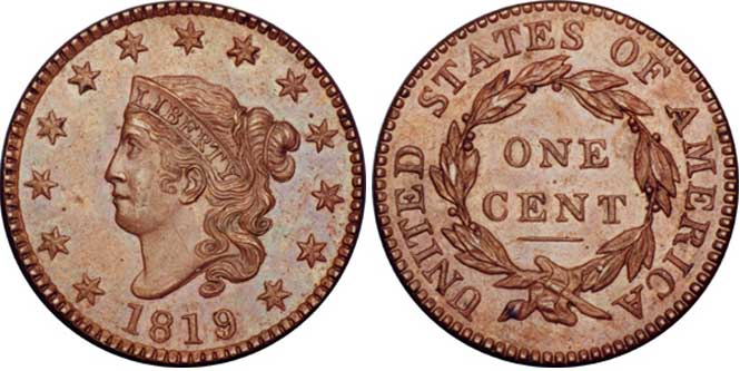 Coronet or Matron - Reverse and Obverse