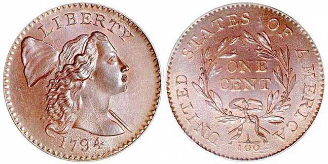Liberty Cap - Reverse and Obverse